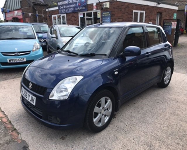 2006 56 SUZUKI SWIFT 1.5 GLX VVTS 5d 101 BHP