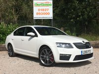 USED 2015 15 SKODA OCTAVIA 2.0 VRS TSI 5dr 1 Owner, FSH, Parking Sensors