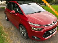 USED 2014 14 CITROEN C4 PICASSO 1.6 E-HDI AIRDREAM EXCLUSIVE PLUS 5d 113 BHP