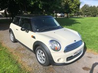 2012 MINI HATCH COOPER 1.6 COOPER 3d 122 BHP £6495.00