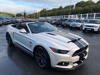 2018 FORD MUSTANG 5.0 SHADOW EDITION 2d 410 BHP £47500.00