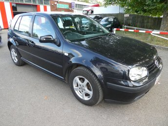 2004 VOLKSWAGEN GOLF 1.6 FINAL EDITION E 5d 103 BHP £995.00