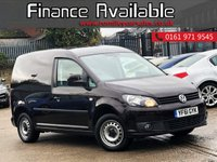 USED 2011 61 VOLKSWAGEN CADDY 1.6 C20 TDI BLUEMOTION 102 1d 101 BHP GREAT SERVICE HISTORY