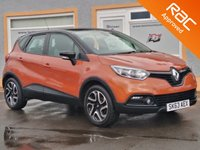 USED 2013 63 RENAULT CAPTUR 0.9 DYNAMIQUE MEDIANAV ENERGY TCE S/S 5d 90 BHP 1 Owner, Sat Nav, Bluetooth, Media Player, Cruise Control, 6 Service Stamps