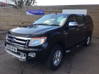 USED 2016 65 FORD RANGER 2.2 LIMITED 4X4 DCB TDCI 1d 1 OWNER