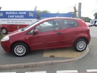 USED 2009 59 FIAT GRANDE PUNTO 1.4 ACTIVE 8V 3d 77 BHP 6 Stamps Of Service History .New MOT & Full Service Done on purchase + 3 Months Russell Ham Quality Warranty . All Car's Are HPI Clear . Finance Arranged - Credit Card's Accepted . for more cars www.russellham.co.uk  Spare Key & Owners Book Pack.
