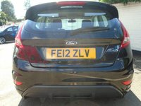 USED 2012 12 FORD FIESTA 1.6 ZETEC S 3d 118 BHP GUARANTEED TO BEAT ANY 'WE BUY ANY CAR' VALUATION ON YOUR PART EXCHANGE