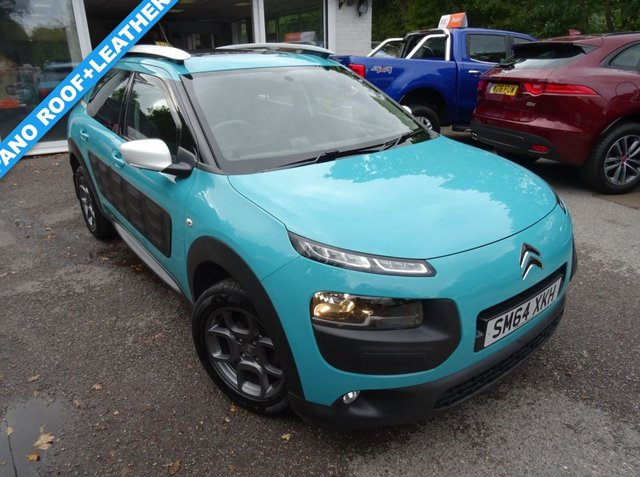 2015 64 CITROEN C4 CACTUS 1.6 BLUEHDI FEEL 5d 98 BHP