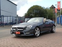 USED 2012 62 MERCEDES-BENZ SLK 1.8 SLK250 BLUEEFFICIENCY AMG SPORT 2d AUTO FULL MERCEDES HISTORY ~ PARKTRONIC ~ SAT NAV ~ FULL LEATHER HEATED SEATS ~ CRUISE CONTROL ~ AMG STYLING ~ DAB