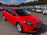 USED 2013 13 FORD FOCUS 1.6 TITANIUM TDCI 115 5d 114 BHP SONY Premium Hi-Fi, Bluetooth, DAB & More. just serviced