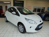 USED 2015 15 FORD KA 1.2 EDGE 3d 69 BHP AUGUST 2020 MOT + JUST SERVICED + LOW MILES + LOW CAR TAX ( £30 )  AIR CONDITIONING + CD RADIO + AUX/MP3 JACK + REMOTE CENTRAL LOCKING + ELECTRIC WINDOWS + STOP START