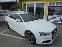 USED 2014 64 AUDI A5 2.0 TDI BLACK EDITION 2d 177 BHP JUST  ARRIVED BLACK EDITION