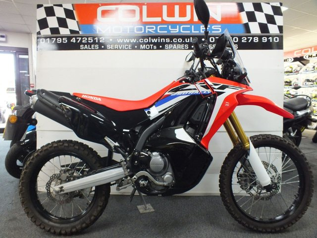 View our HONDA CRF250 RALLY