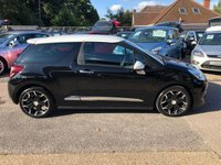 USED 2014 63 CITROEN DS3 1.6 E-HDI AIRDREAM DSPORT 3d 111 BHP GREAT FUEL ECONOMY AND PERFORMANCE, ZERO ROAD TAX, SUPPLIED WITH A NEW MOT