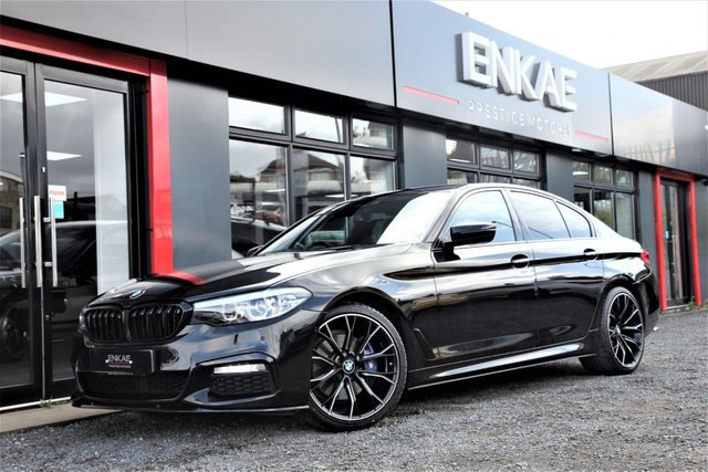 2017 17 BMW 5 SERIES 530D XDRIVE M SPORT, BLACK AUTO M SPORT PLUS HUGE SPEC