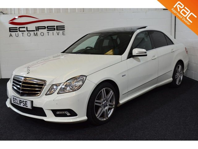 2010 10 MERCEDES-BENZ E CLASS 3.0 E350 CDI BLUEEFFICIENCY SPORT 4d AUTO 231 BHP