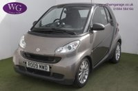 USED 2009 09 SMART FORTWO 1.0 PASSION MHD 2d AUTO 71 BHP