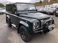 USED 2014 14 LAND ROVER DEFENDER 2.2 TD HARD TOP XS 2d 122 BHP Aintree Green Metallic, thousands in options