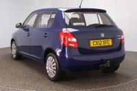 USED 2012 12 SKODA FABIA 1.6 S TDI CR 5DR 74 BHP SERVICE HISTORY + £20 12 MONTHS ROAD TAX + AIR CONDITIONING + RADIO/CD/AUX + ELECTRIC WINDOWS
