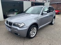 USED 2007 07 BMW X3 2.0 20d M Sport 5dr FULL LEATHER