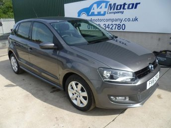 2011 VOLKSWAGEN POLO 1.2 Match 5dr £4450.00