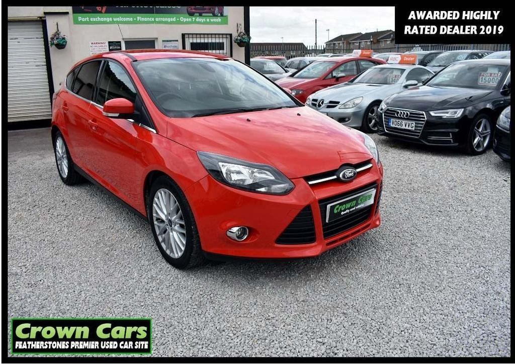 USED 2013 63 FORD FOCUS 1.6 TDCi Zetec 5dr 3 MONTH WARRANTY & PDI CHECKS