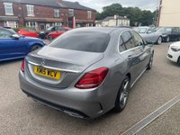 USED 2015 15 MERCEDES-BENZ C CLASS 2.1 C220 CDI BlueTEC AMG Line G-Tronic+ (s/s) 4dr FULL MERCEDES SERVICE HISTORY