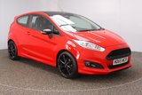 USED 2015 65 FORD FIESTA 1.0 ZETEC S RED EDITION 3DR 139 BHP £20 12 MONTHS ROAD TAX + BLUETOOTH + MULTI FUNCTION WHEEL + AIR CONDITIONING + DAB RADIO + ELECTRIC WINDOWS + RADIO/CD/USB + ELECTRIC MIRRORS + 17 INCH ALLOY WHEELS