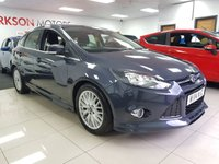 USED 2014 14 FORD FOCUS 1.6 ZETEC S TDCI 5dr+SERVICE HISTORY+£20 YEAR TAX+FACTORY EXTRIOR BODYKIT+