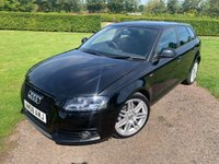 USED 2008 58 AUDI A3 1.6 MPI S LINE 5d 101 BHP Full Service History Cambelt Replaced  Full Service History, MOT 09/20, Recently Serviced, X2 Keys, 19in SLine Alloys, Bluetooth Handsfree, SLine Crested Half Leather Upholstery, Cd/Stereo/Aux In Socket, Climate Aircon, DAytime Running Lights, Parcel Shelf Sunblind, Very Straight+ Clean And Tidy Example, Gloss Black Honeycomb Grill, Very Very Straight And Clean And Tidy Example You Will Not Be Dissapointed!