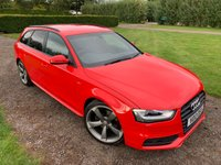 2013 AUDI A4 2.0 AVANT TDI BLACK EDITION 5d 174 BHP Full Audi And Specialist History Cambelt Replaced  £9495.00