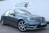USED 2012 12 MERCEDES-BENZ C CLASS 1.8 C180 BLUEEFFICIENCY SPORT EDITION 125 4d AUTO 156 BHP