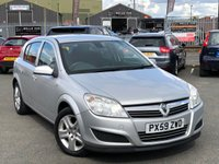 USED 2009 59 VAUXHALL ASTRA 1.7 ACTIVE CDTI 5d 100 BHP *AIR CONDITIONING, REVERSE PARKING SENSORS, ONLY 61K MILES*