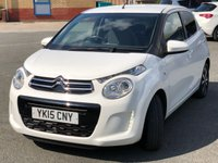 USED 2015 15 CITROEN C1 1.0 FLAIR 5d 68 BHP *DAB RADIO, REVERSE CAMERA, CLIMATE CONTROL*