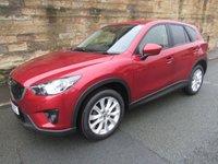 2013 MAZDA CX-5 2.2 D SPORT NAV 5d 148 BHP £8750.00