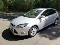 USED 2014 14 FORD FOCUS 1.6 TITANIUM NAVIGATOR TDCI 5d 113 BHP CALL OUR SUPER FRIENDLY TEAM FOR MORE INFO 02382 025 888