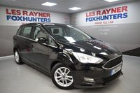 USED 2016 66 FORD GRAND C-MAX 1.5 ZETEC TDCI 5d AUTO 118 BHP Cheap tax, Blueooth, DAB Radio, 1 Owner, Air con