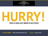USED 2007 57 BMW Z4 3.0 Z4 SI SE COUPE 2d 262 BHP www.suffolkcarcentre.co.uk - Located at Reydon