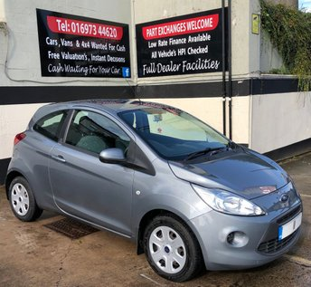 2011 FORD KA 1.2 EDGE 3DR 69 BHP, ONLY £30 TAX & INSURANCE GROUP 3 £3695.00