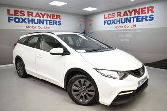 2015 HONDA CIVIC 1.6 I-DTEC SE PLUS-T TOURER 5d 118 BHP £7499.00