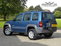 USED 2004 54 JEEP CHEROKEE 2.4 SPORT 5d 145 BHP OUTSTANDING EXAMPLE 4X4+FSH