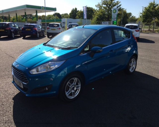 2013 13 FORD FIESTA 1.5 TDCI ZETEC  (75PS)