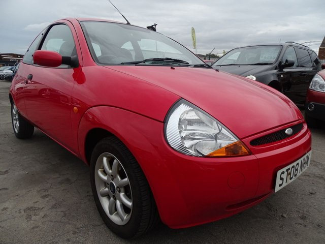 USED 2008 08 FORD KA 1.3 ZETEC CLIMATE CLOTH LOW MILES