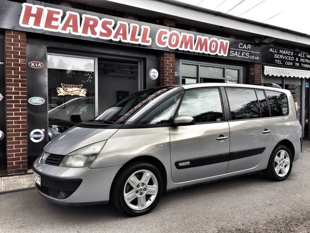 USED 2004 54 RENAULT GRAND ESPACE 2.2 EXPRESSION DCI 5d 151 BHP