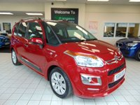 USED 2014 64 CITROEN C3 PICASSO 1.6 PICASSO EXCLUSIVE HDI 5d 91 BHP ONE OWNER + FULL SERVICE HISTORY + ONLY 13000 MILES + SEPTEMBER 2020 MOT + AIR CONDITIONING + REVERSING SENSORS + CRUISE CONTROL + CLIMATE CONTROL + ELECTRIC WINDOWS + REMOTE CENTRAL LOCKING + CD/RADIO + ALLOYS + £20 RAOD TAX PER YEAR