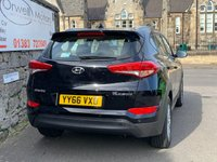 USED 2016 66 HYUNDAI TUCSON 1.7 CRDI SE NAV BLUE DRIVE 5d 114 BHP LOW RATE CAR FINANCE AVAILABLE+SATELLITE NAVIGATION+1 OWNER+FULL SERVICE HISTORY