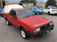 1992 SUBARU PICK UP 1.8 4WD 2d 83 BHP £6500.00