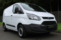 USED 2017 67 FORD TRANSIT CUSTOM 2.0 290 LR P/V 1d 104 BHP A CLEAN ONE COMPANY OWNER VAN WITH FULL HISTORY AND FORD WARRANTY!!!