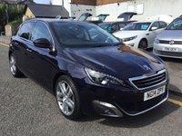 2014 PEUGEOT 308 1.6 E-HDI FELINE 5d 114 BHP £7800.00