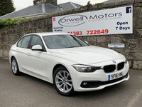 USED 2016 16 BMW 3 SERIES 2.0 320D SE 4d 188 BHP 1 OWNER+FULL SERVICE HISTORY+SATELLITE NAVIGATION+FINANCE AVAILABLE